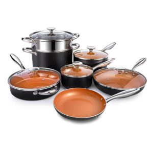 Micelangelo copper cookware set