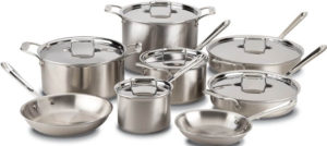 all-clad stainless stainless steel set