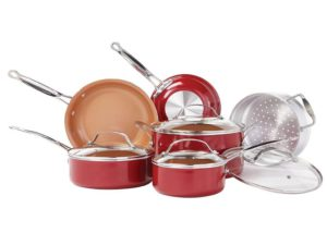 bulbhead 10 pc cookware set