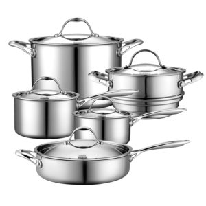 cooks standard stainless steel set