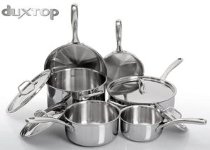 duxtop whole clad cookware set