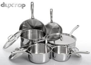 duxtop whole clad cookware set
