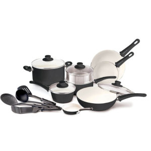 greenlife ceramic non-stick cookware set