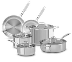 kitchenaid stainless steel cookware