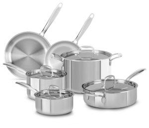 kitchenaid stainless steel cookware