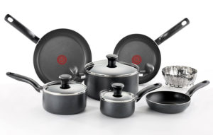t-fal a821sa nonstick cookware set