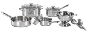 wearever stainless cookware set