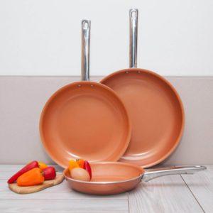 Healthy Nonstick Ceramic Coated Frying Pan