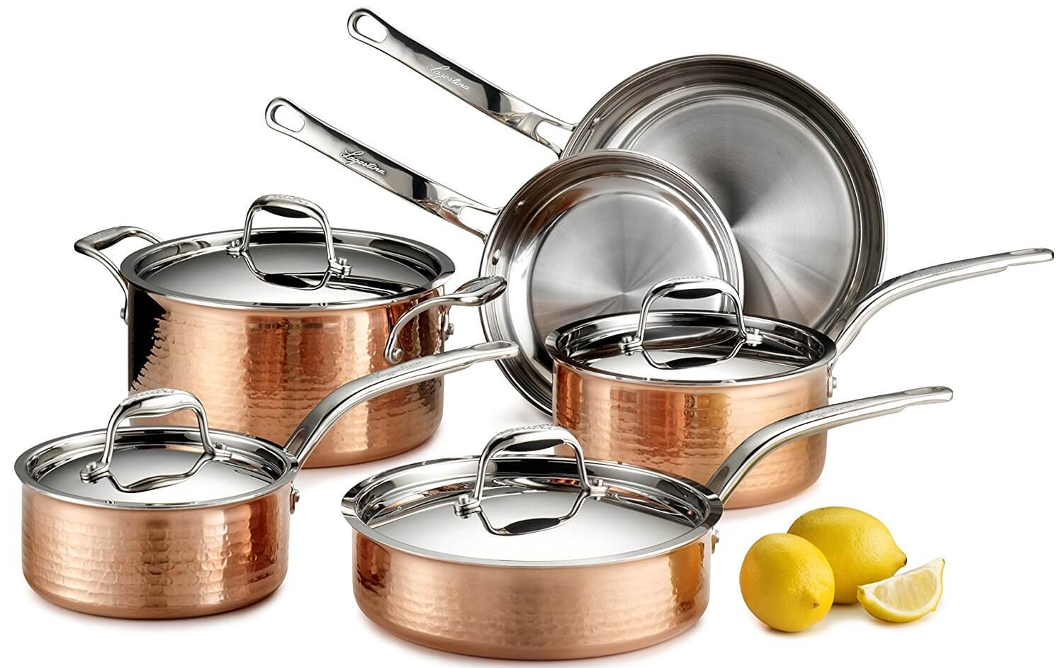 10 Best Copper Stainless Steel Cookware 2020 All Inclusive Guide