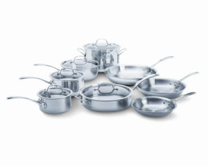 calphalon stainless cookware