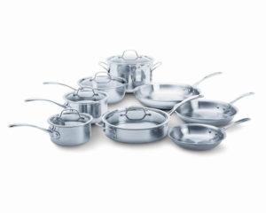 calphalon stainless cookware