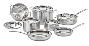 cuisinart stainless cookware