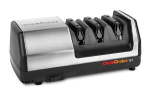 Chefs Choice Model 151 Stainless Steel Universal Electric Knife Sharpener