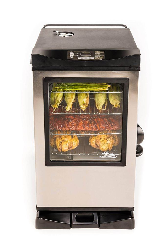 Masterbuilt 30 Inch Outdoor Digital Electric Meat Smoker BBQ Grill w-Window