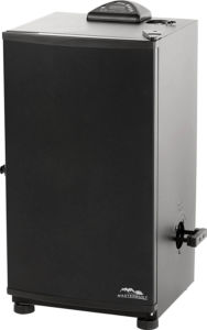 Masterbuilt Outdoor Barbecue 30- Digital Electric BBQ Meat Smoker Grill, Black