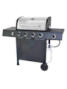 RevoAce 4-Burner LP Gas Grill with Side Burner