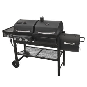 Smoke Hollow TC3718SB Gas-Charcoal-Smoker Combination Grill