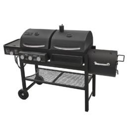 Smoke Hollow TC3718SB Gas-Charcoal-Smoker Combination Grill