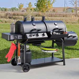Trio Gas-charcoal-smoker Grilla