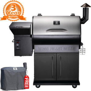 Z GRILLS New ZPG-700E 2019 Upgrade Model Wood Pellet Grill & Smoker