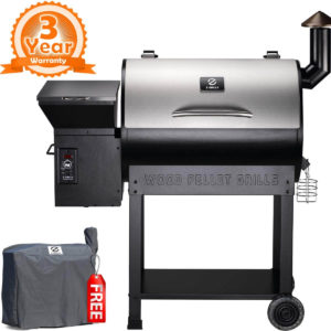 Z GRILLS ZPG-7002E 2019 New Model Wood Pellet Grill & Smoker