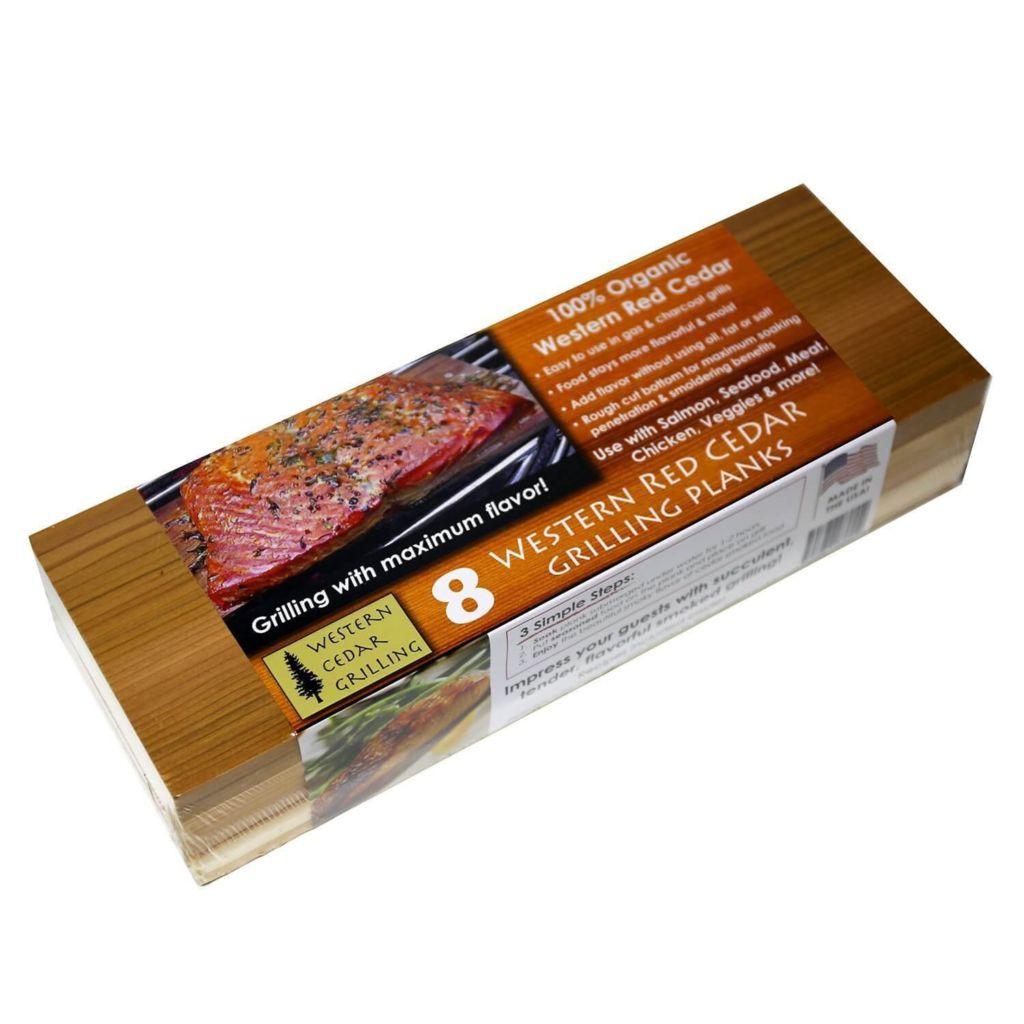8 Cedar LONG Grilling Planks