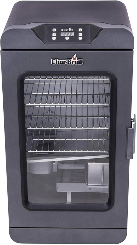 Char Broil 19202101 Deluxe Black Digital Electric Smoker