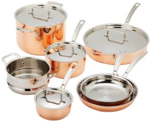 Cuisinart CTP-11AM Copper Tri-Ply Stainless Steel