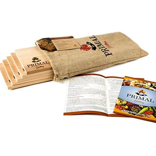 Premium Cedar Planks for Grilling