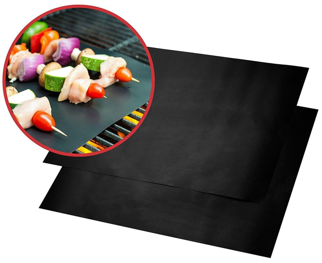 Quiseen BBQ Grill Mat - Set of 2 Mats