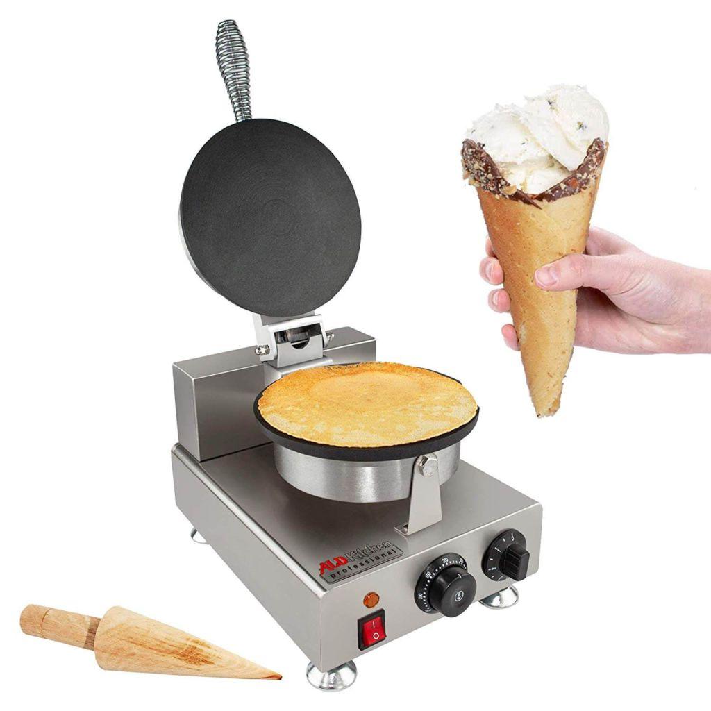 ALDKitchen 110V Electric Ice Cream Waffle Cone Maker Electric Ice Cream Cone