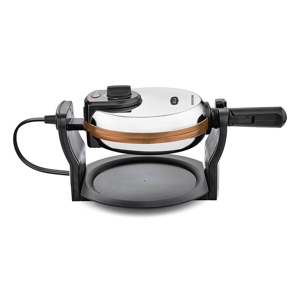 BELLA Copper Titanium Coated Rotating Belgian Waffle