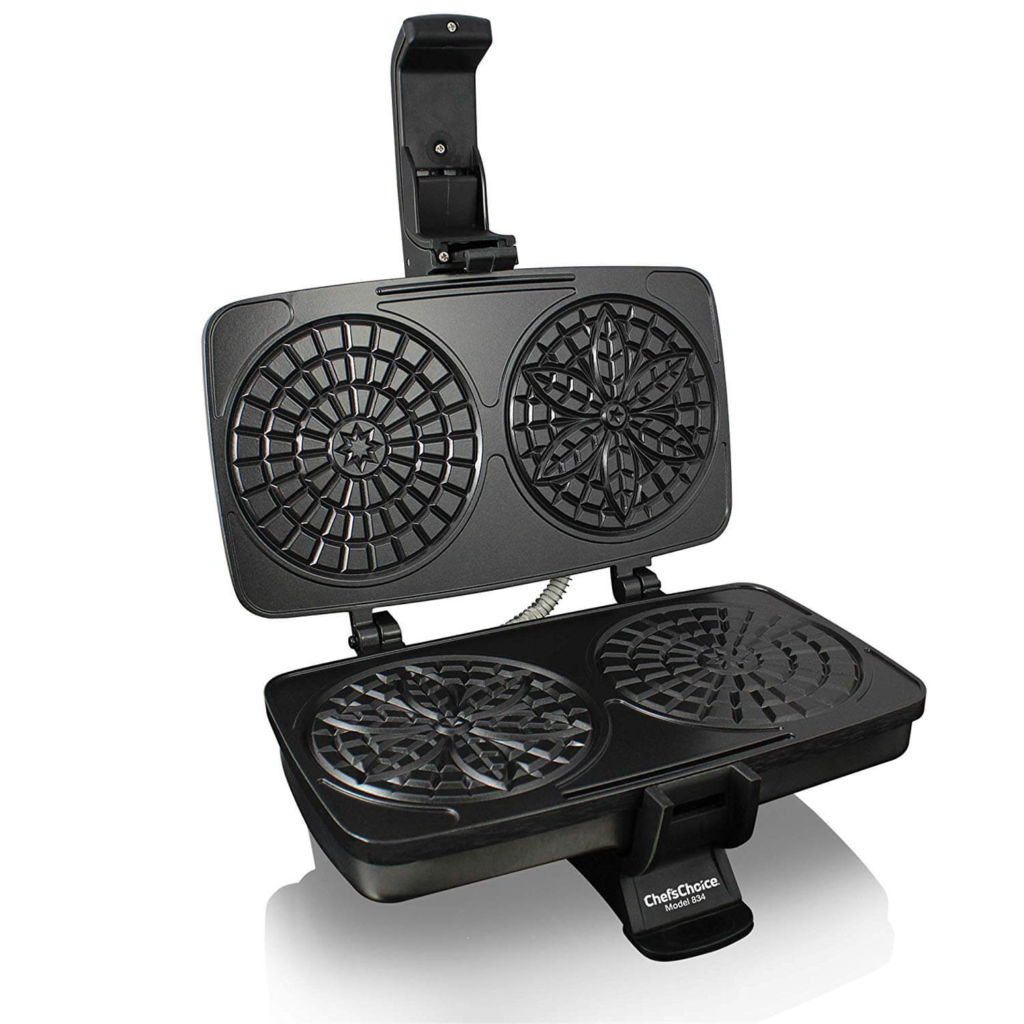 Chef'sChoice 834 PizzellePro Toscano Nonstick Pizzelle