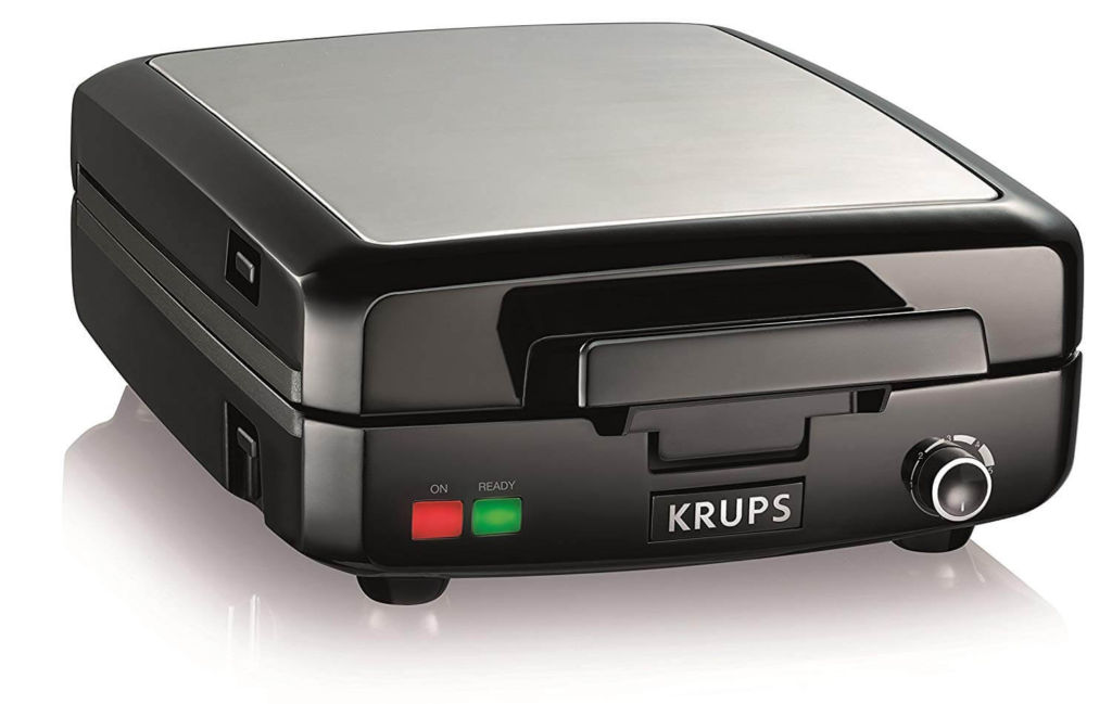 KRUPS Belgian Waffle Maker, Waffle Maker with Removable Plates