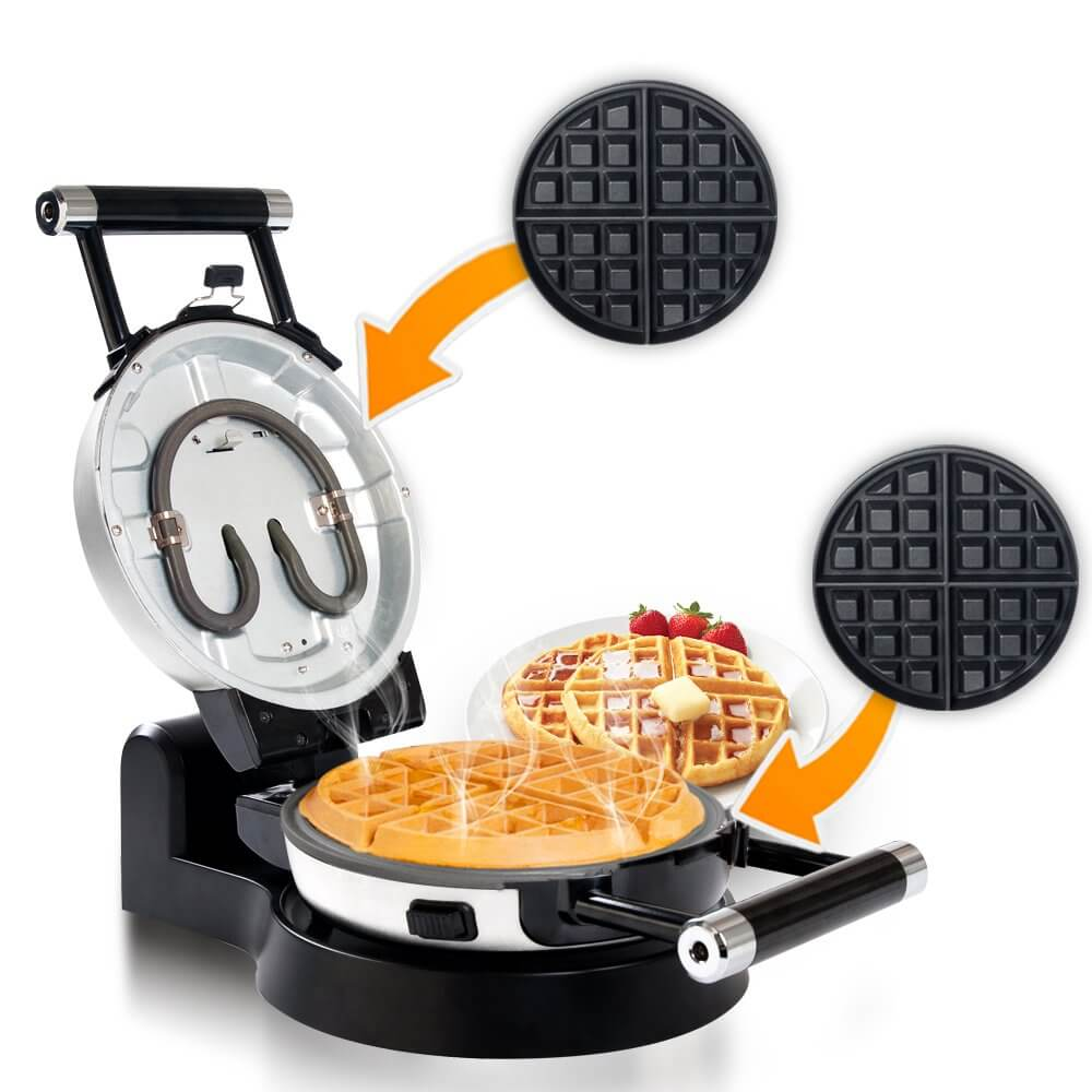 Secura Upgrade Automatic 360 Rotating Belgian Waffle