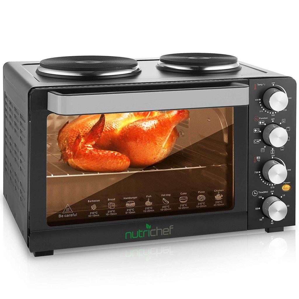 30 Quarts Kitchen Convection Oven - 1400 Watt Countertop Turbo