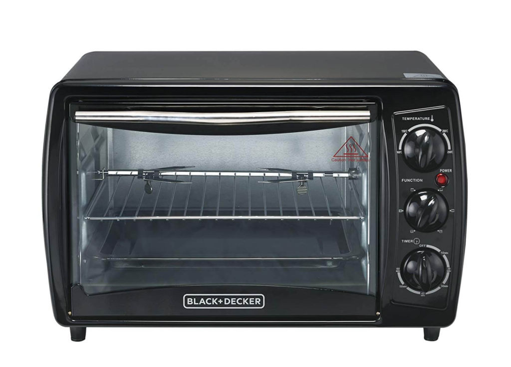 Black & Decker TRO2000R 19 L Toaster Oven with Rotisserie