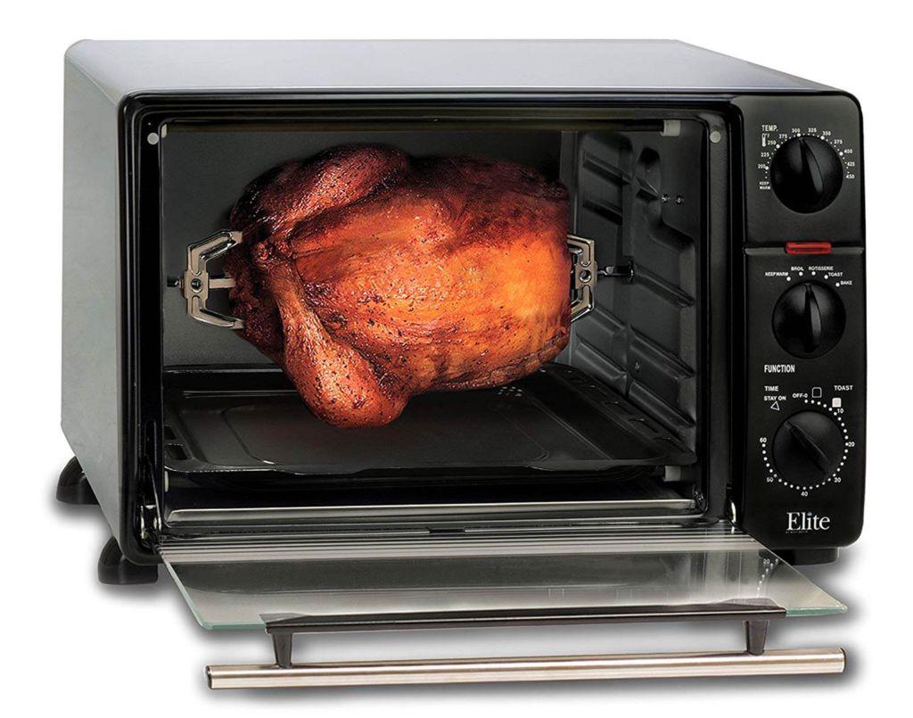 Elite Cuisine ERO-2008N Countertop Toaster Oven