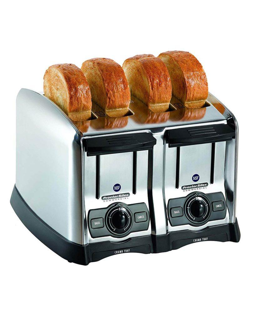 Hamilton Beach 24850 Hamilton Beach 4 Slice Extra-Wide Slot Commercial Toaster