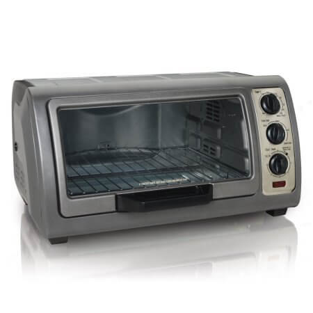 Hamilton Beach 31126 6-Slice Easy Reach Toaster Oven with Timer