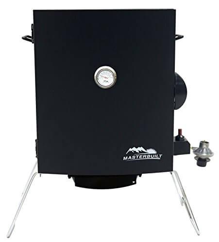 Masterbuilt 20050116 Patio-2-Portable Propane Smoker, Black