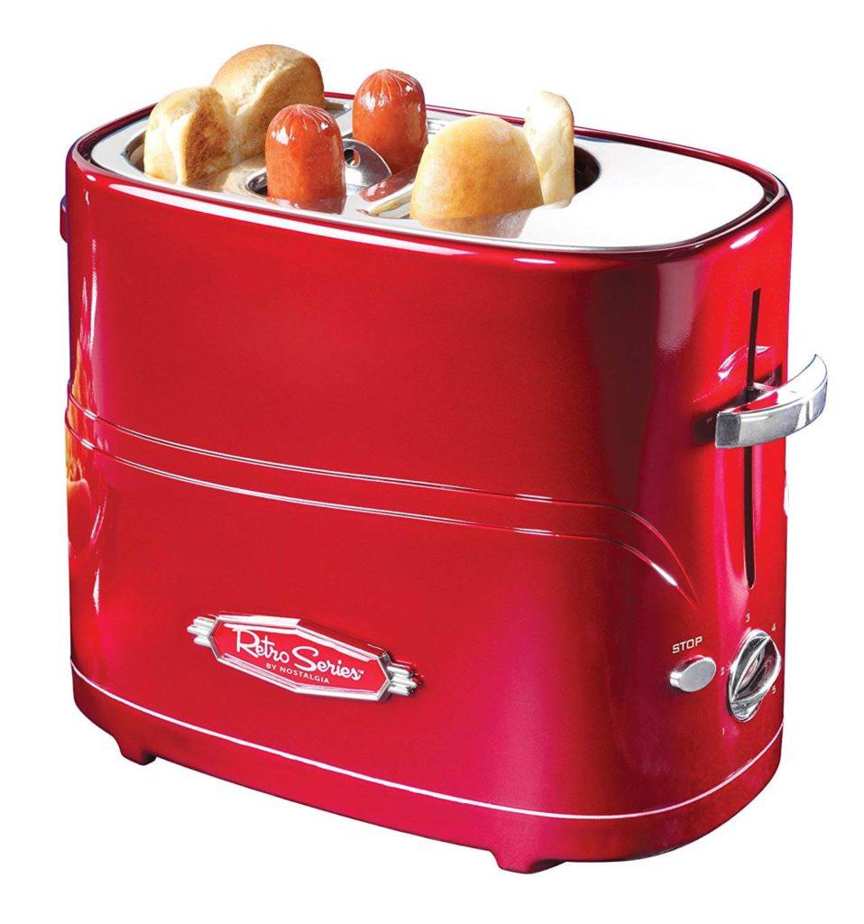 Nostalgia Retro Pop-Up Toaster