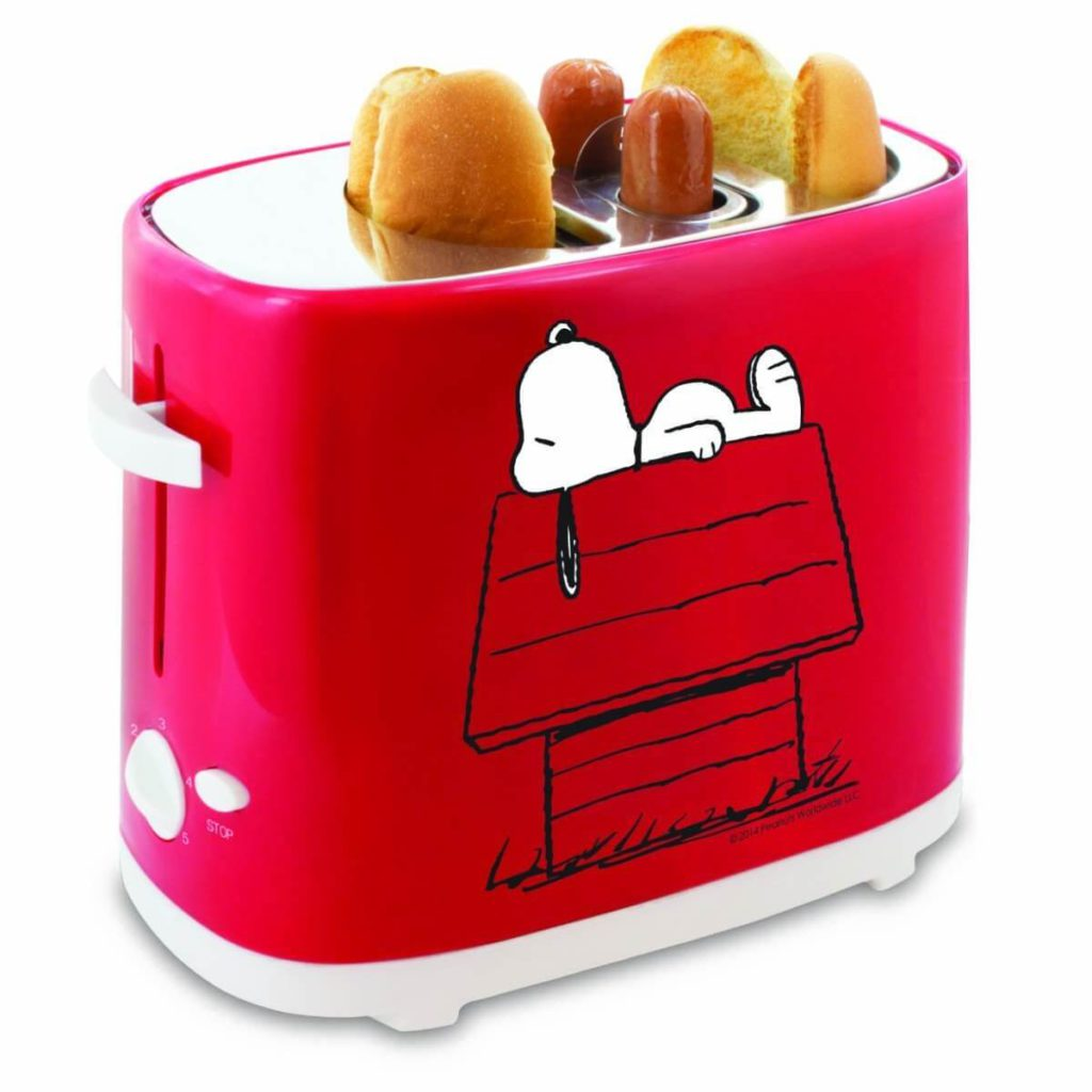 Smart Planet HDT‐1S Peanuts Snoopy Hot Dog Toaster