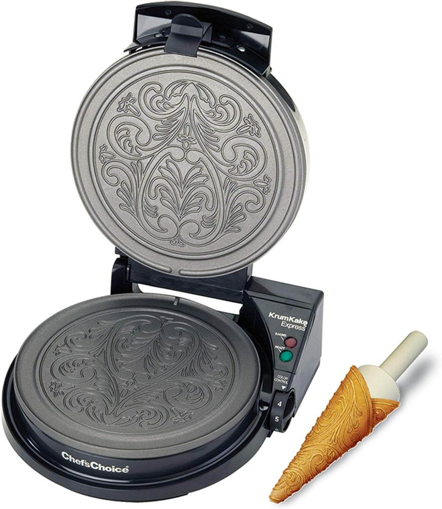 Chefs Choice 839 KrumKake Express Krumkake Cookie Maker