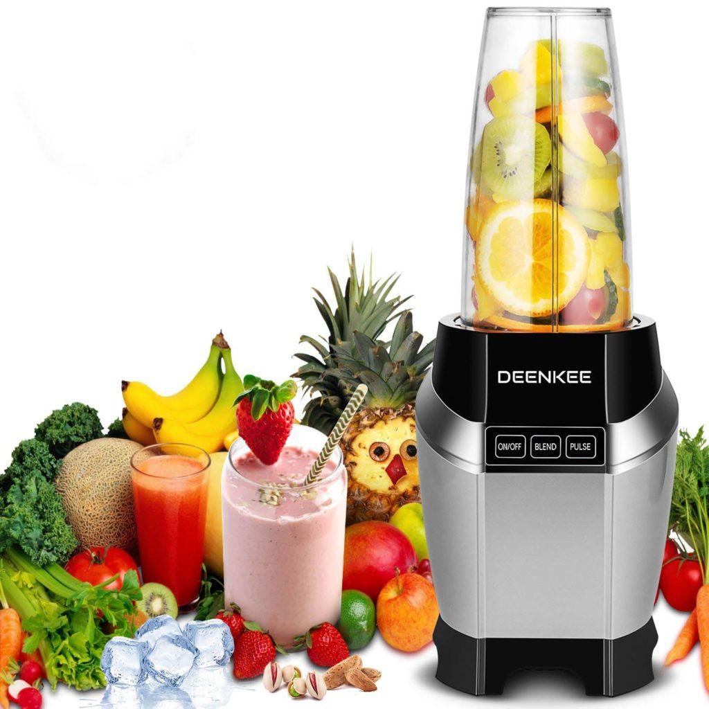 Deenkee Blender, Smoothie Blender, Personal Blender, Blender For Shakes And Smoothies,