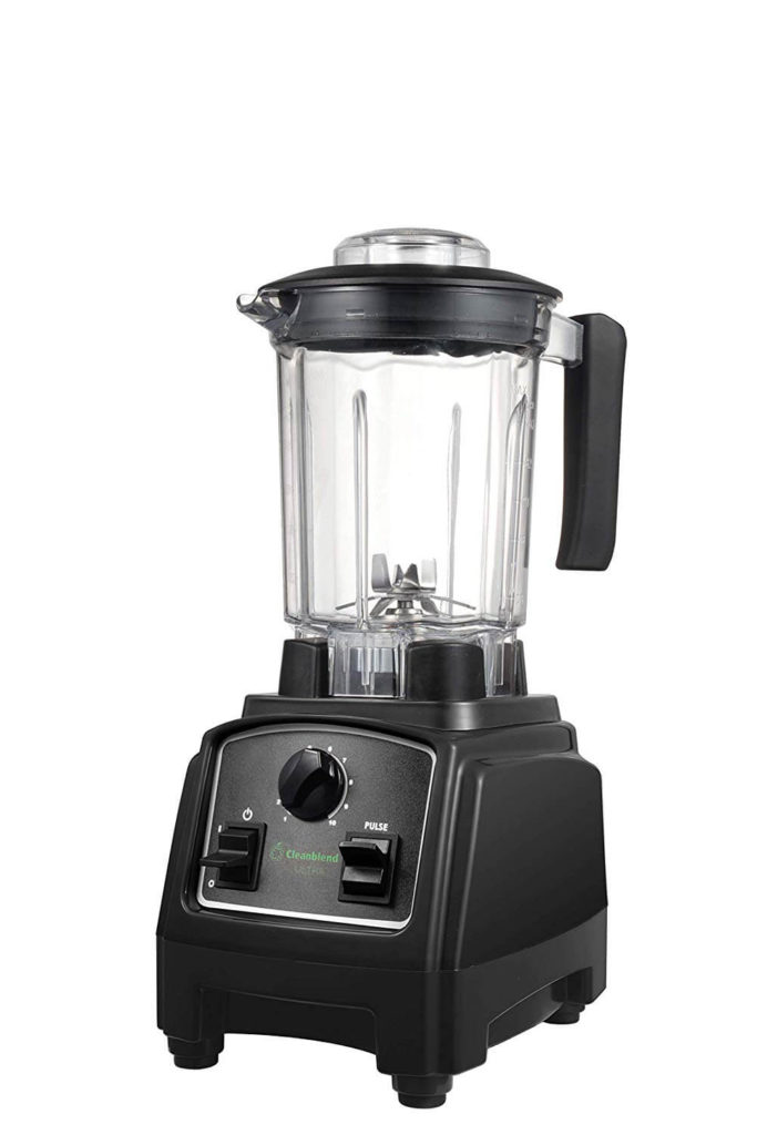 Cleanblend ULTRA low profile countertop blender with a bpa