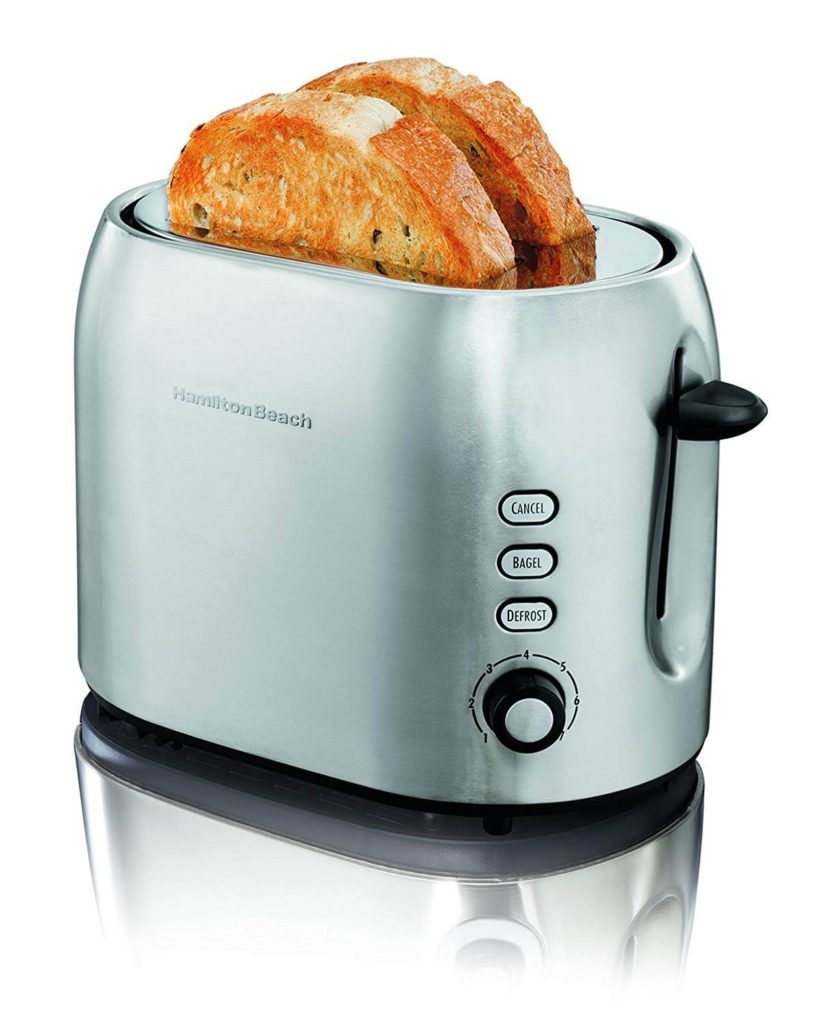 Hamilton Beach 22706 2 Slice Metal Toaster