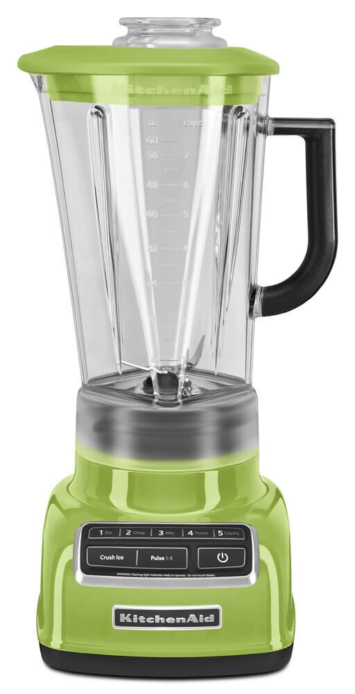 KitchenAid KSB1575GA 5-Speed Diamond Blender with 60-Ounce BPA-Free Pitcher