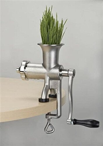 Miracle Exclusives Stainless Steel Manual Wheatgrass Juicer