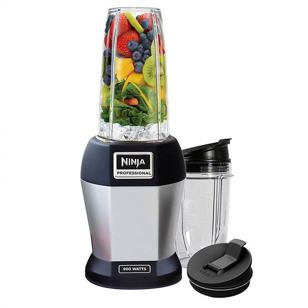 Ninja BL455_30 Nutri Professional Personal Blender Bonus Set with 3-Sip & Seal Single Serves
